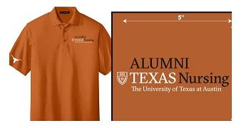 Burnt Orange Alumni Polo Shirt