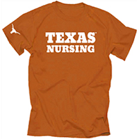 Texas Nursing Orange T-Shirt
