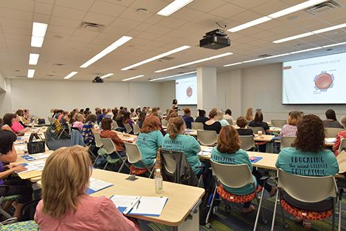 Nursing attending Continuing Nursing Education