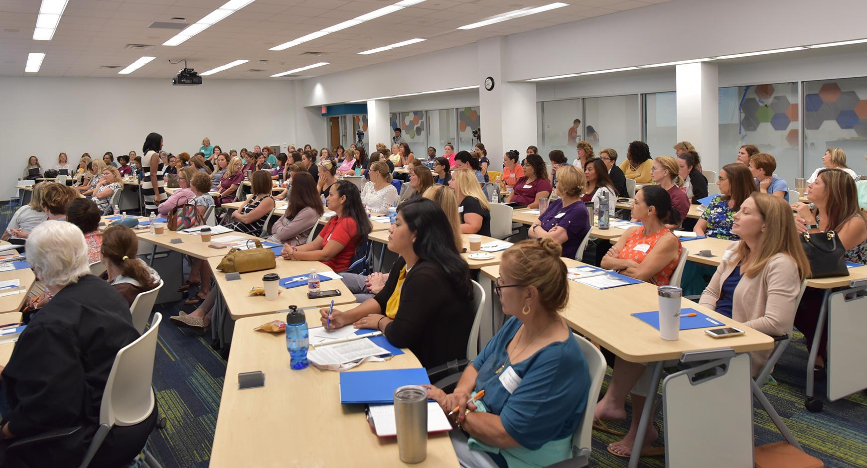 Nurses participating at the Kids First Conference