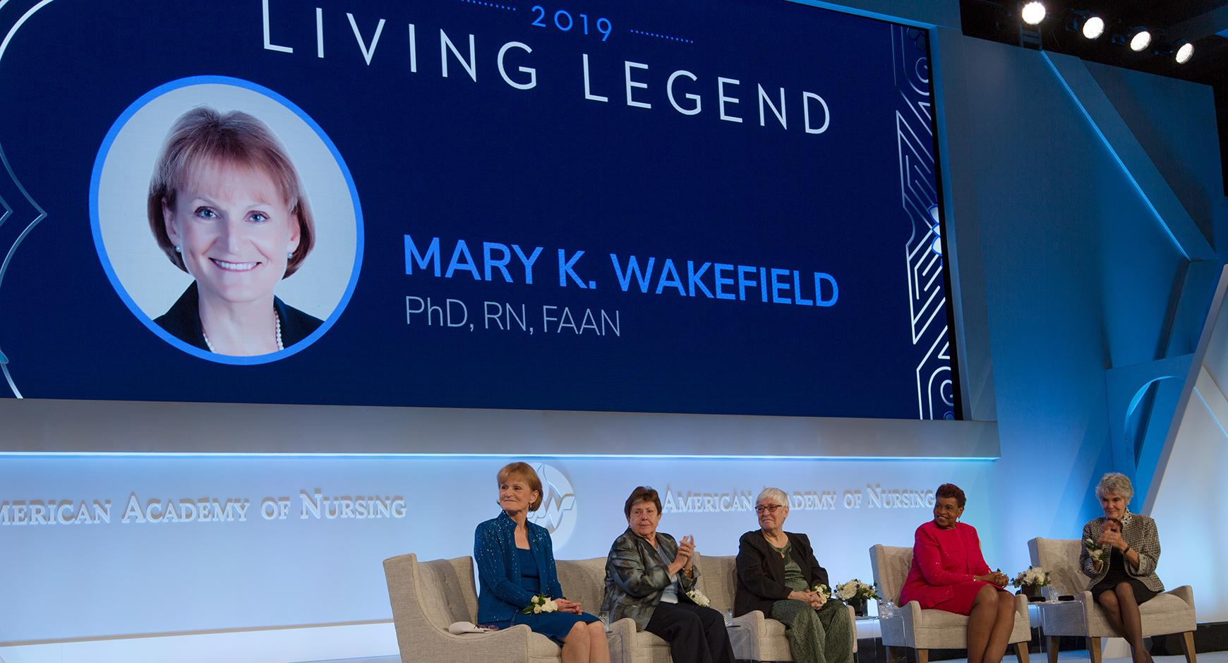 2019 Living Legend: Mary Wakefield, PhD, RN, FAAN