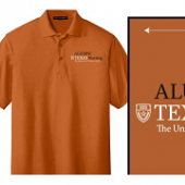 Burnt Orange Alumni Polo Shirt