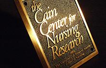 The Cain Center for Nursing Research Logo