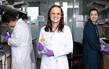 Dr. Nicole Osier with her team at the BioBehavioral Lab